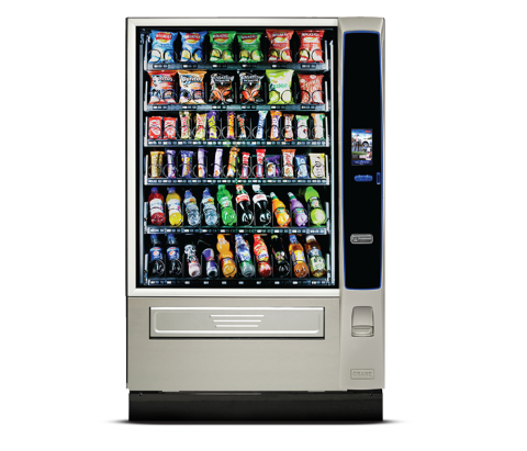 Merchant 6 snack machine