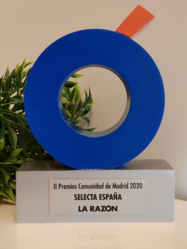 "Premio Comunidad de Madrid ""Vending Saludable"""