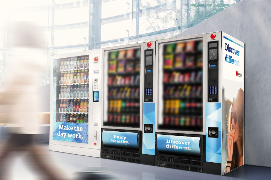 fully managed vending machines